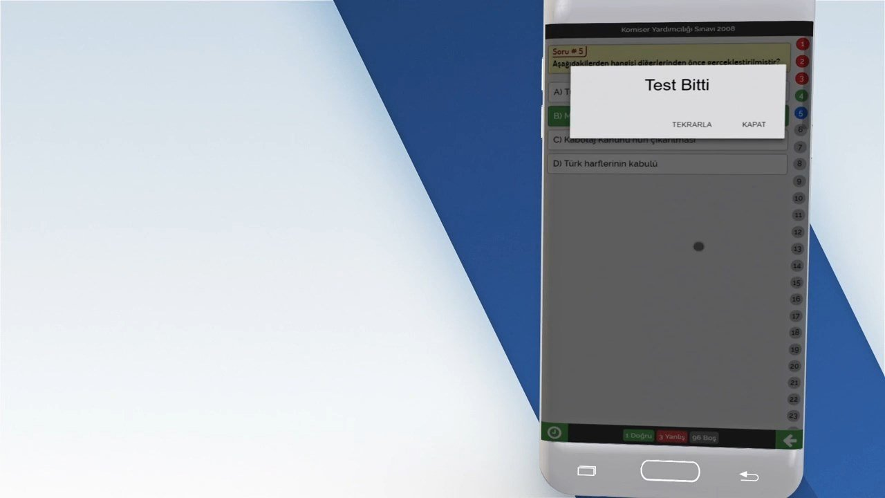 Komiser Yardımcılığı ve Misyon Koruma Sınavları 8 1280x720 - KOMİSYON Mobil Uygulama Tanıtımı